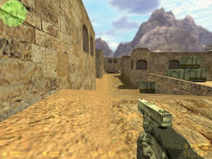 Серебреный Glock 27 Для CS 1.6.Качественая и Хорошая Модель для cs 1.6!П